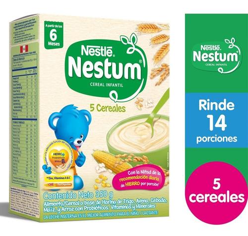 Cereal Infantil Nestum®  5 Cereales 350g