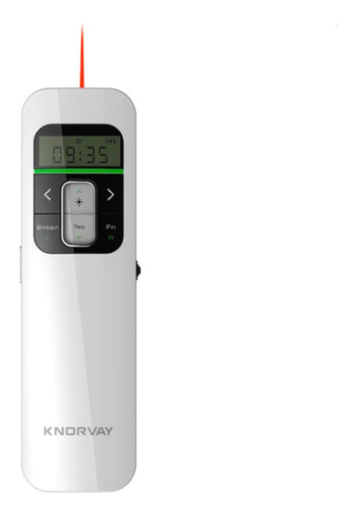 Apresentador Multimidia Mouse Powerpoint Knorvay N80