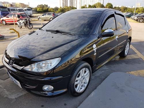 Peugeot 206 1.6 16v Allure Flex 5p 2008 Completo