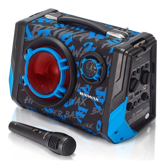 Caixa De Som Bluetooth Portatil 65w Rádio Fm Mp3 Amplificada