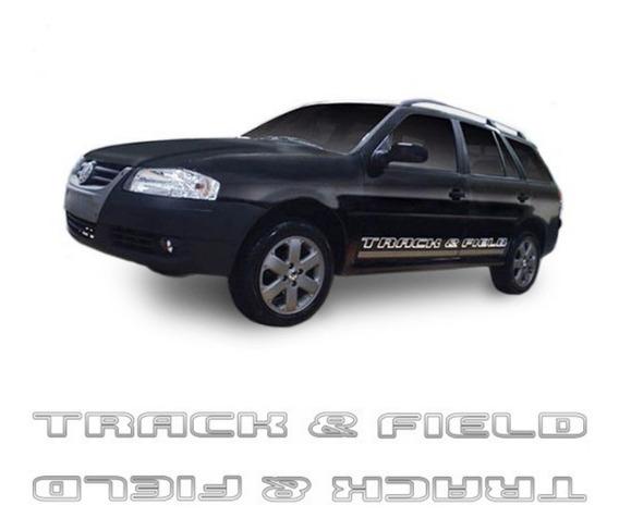 Kit Faixas/adesivos Parati Track & Field Modelo Original