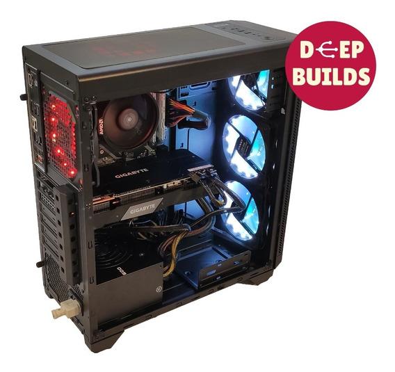 Computador Gamer Amd R7 3600x, Rtx 2070 Super, 16gb, 1tb Ssd