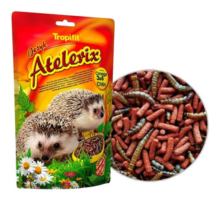 Alimenta Para Erizos Con Tenebrios Tropifit Atelerix 700g
