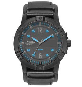 Relógio Masculino Mormaii Pulseira De Couro Mo2036ir/2a