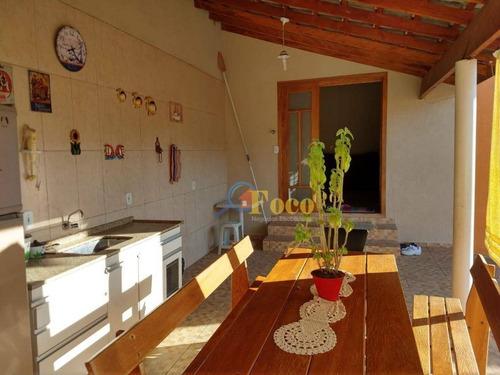 Imagem 1 de 14 de Casa Com 3 Dormitórios À Venda, 140 M² Por R$ 580.000,00 - Loteamento Itatiba Park - Itatiba/sp - Ca0850