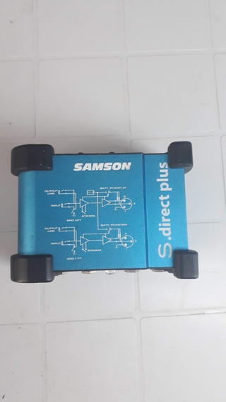 Direct Box Ativo L R Samson