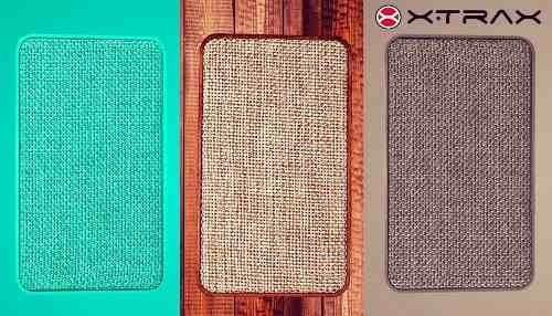 Caixa De Som Bluetooth X500 Xtrax Cor Madeira/verde /cinza