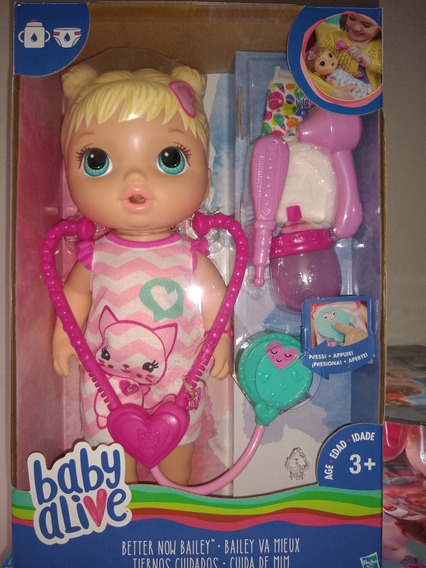 Baby Alive Cuida De Mim Nova E Originla