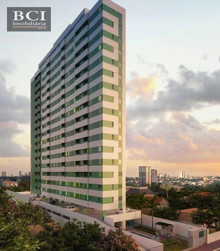 Flat Com 1 Dormitório À Venda, 26 M² Por R$ 192.877,82 - Rosarinho - Recife/pe - Fl0366
