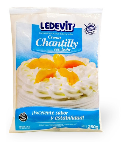 Polvo Para Preparar Crema Chantilly 250g - Ledevit