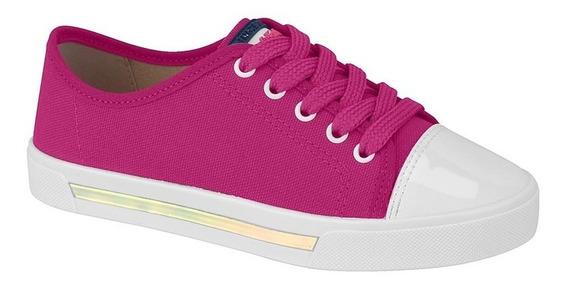 Tênis Casual Infantil Molekinha Feminino Pink Original + N F