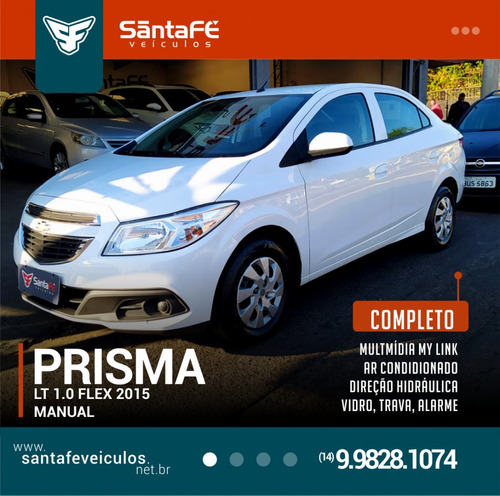 Imagem 1 de 9 de  Chevrolet Prisma Sed. Lt 1.0 8v Flexpower 4p