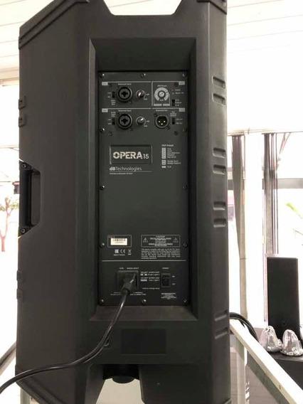 Caixa De Som Ativa Opera15 Com 1200 W E Dsp Interno