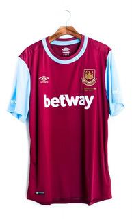 Camisa De Futebol West Ham 2015/16 Boleyn Ground Umbro