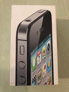 iPhone 4s A1387 64gb Preto Desbloqueado Na Caixa!