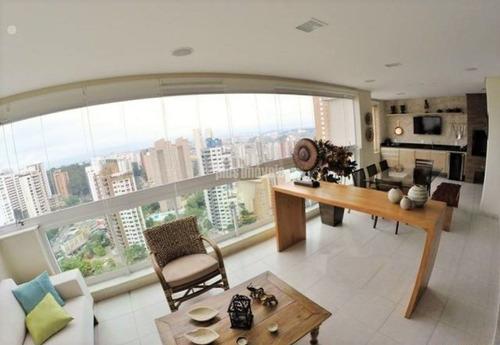 Lindo Apartamento, Todo Decorado Com Muito Primor - Pp18971