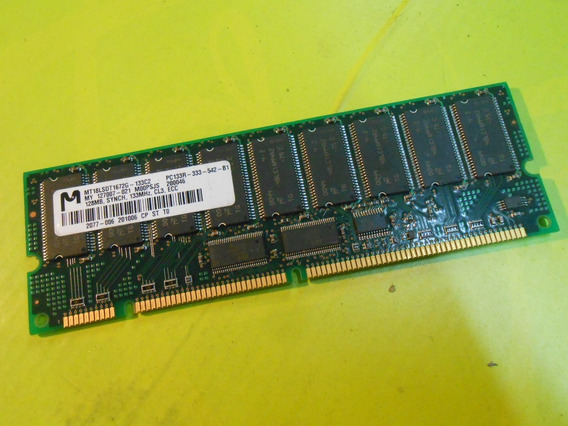 Memoria Mt Dimm 128mb 133mhz Ecc Server