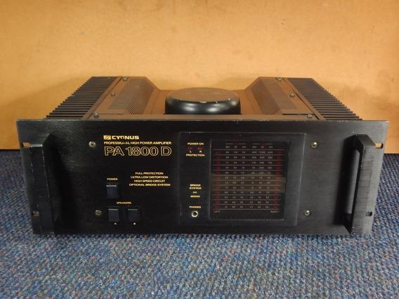 Cygnus Pa 1800d Amplificador De Potência Vintage / Gradiente
