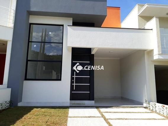 Casa Com 3 Dormitórios À Venda, 115 M² Por R$ 530.000 - Condomínio Vista Verde - Indaiatuba/sp - Ca1934