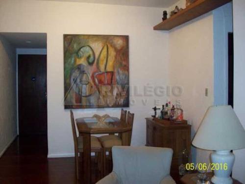 Apartamento À Venda, 2 Quartos, 1 Suíte, 1 Vaga, Humaitá - Rio De Janeiro/rj - 9093