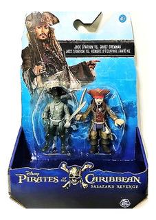 Piratas Del Caribe Figuras Jack Sparrow X 2 Mundo 303532