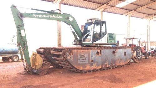 Escavadeira Anfíbia Heking Hk300sda - 2011