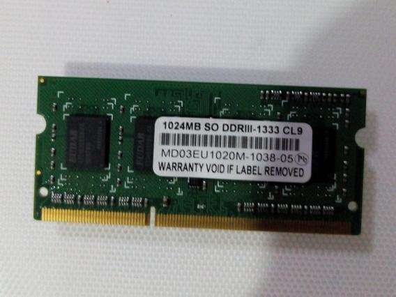 Memoria Ram Netbook Exo Exomate 355 1gb Ddr3 1333