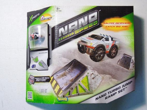 Brinquedo Pista Carrinhos Sunny De Fricção Kit Nano Speed