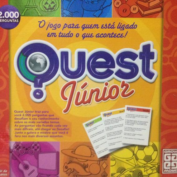 Jogo Grow - Quest Júnior