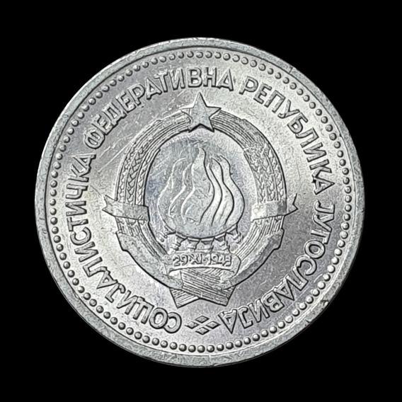 Ch C / Yugoslavia, 1 Dinar 1963 Km 36 Sin Circular