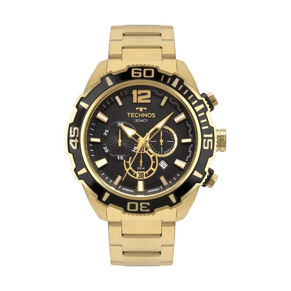 Relógio Masculino Cronógrafo Technos Legacy Js26aq/4p