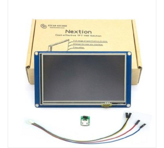 Display Lcd Nextion Nx8048t050 5 Inch