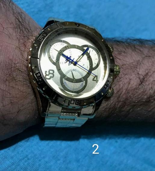 Relógio Masculino Analógico Com Caixa.
