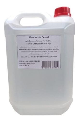Alcohol De Cereal Apto Consumo Humano Tri Destilado