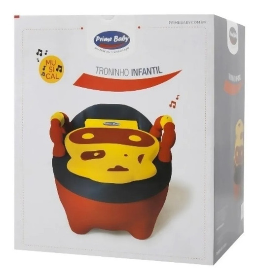 Troninho Musical Infantil Fazendinha Prime Baby
