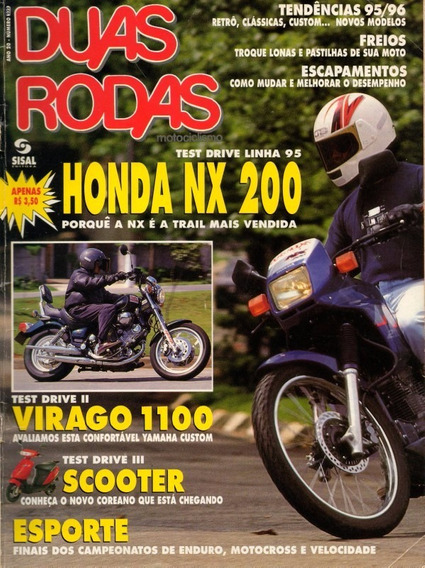 Duas Rodas N°232 Honda Nx 200 Yamaha Virago 1100 Hyosung 50