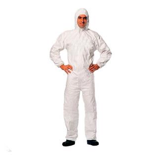 Mameluco/traje Descartable Blanco Talle Xl. Italiano
