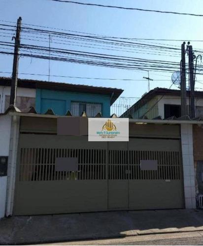 Imagem 1 de 19 de Ótimo Sobrado 03 Dormitórios-1 Suíte-2 Vagas- Aceita Financiamento - So0034