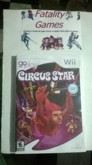 Jogo Go Play Circus Star - Nintendo Wii (usado)