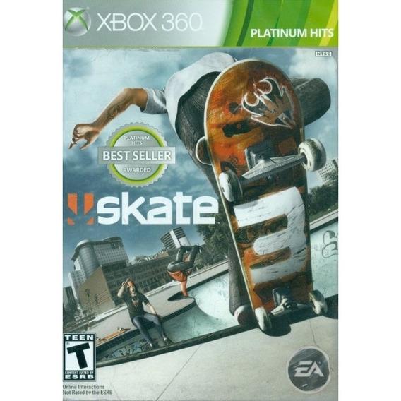Skate 3 - Xbox 360 & Xbox One Lacrado