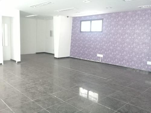 Conjunto Comercial Para Alugar, 230 M² Por R$ 7.000/mês - Gonzaga - Santos/sp - Cj0112