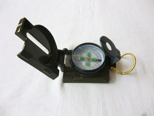 Brújula Lensatic Compass De Estilo Militar Camping Original