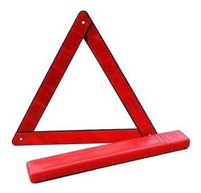 Triângulo De Sinalização Veicular Automotivo Carro + Estojo
