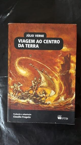 Livro: Viagem Ao Centro Da Terra - Ftd - Almanaque....