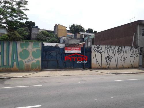 Terreno À Venda, 750 M² Por R$ 1.200.000,00 - Vila Ré - São Paulo/sp - Te0374