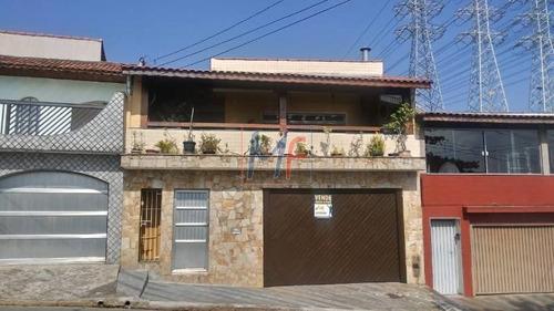 Imagem 1 de 30 de Ref 11.410 Linda  Casa No Bairro Jardim Stella, Próximo Da  Vila Anchieta,  180 M² Área Construída , 3 Dorms (1 Suíte) E 3 Vagas De Garagem - 11410