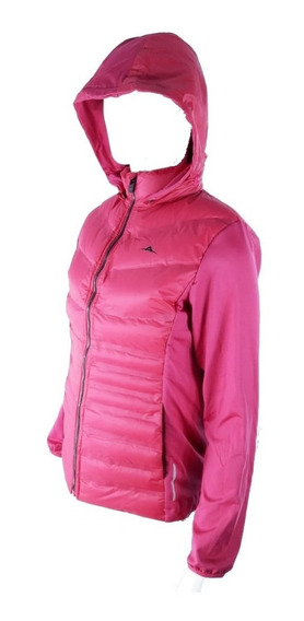 Campera Deportiva Inflable Combinada Mujer - Abyss-