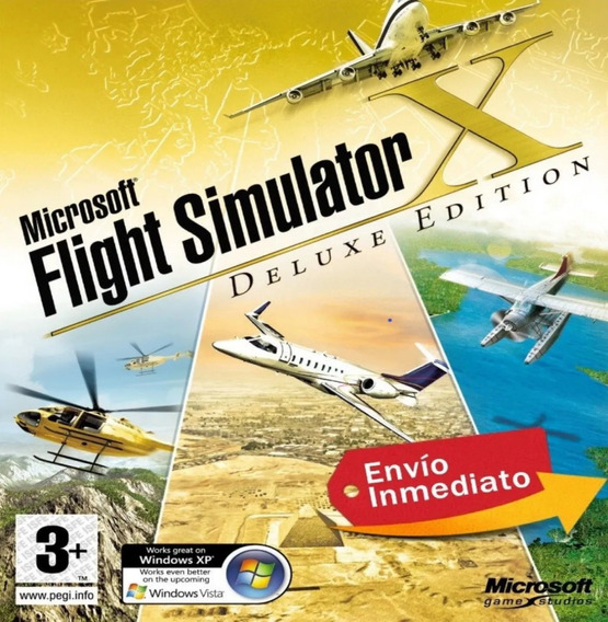 Flight Simulator Fsx 2020+ Completo + Aeronaves 2020+ Brinde