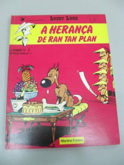 Hq Lucky Luke - A Herança De Ran Tan Plan - Rav73