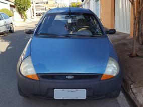 Ford Ka 2000 Azul 1.0 Zetec Rocam